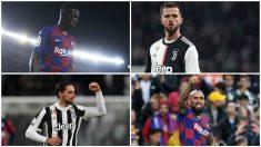 La Juventus ofrece un doble trueque al Barça para el fichaje de Pjanic.