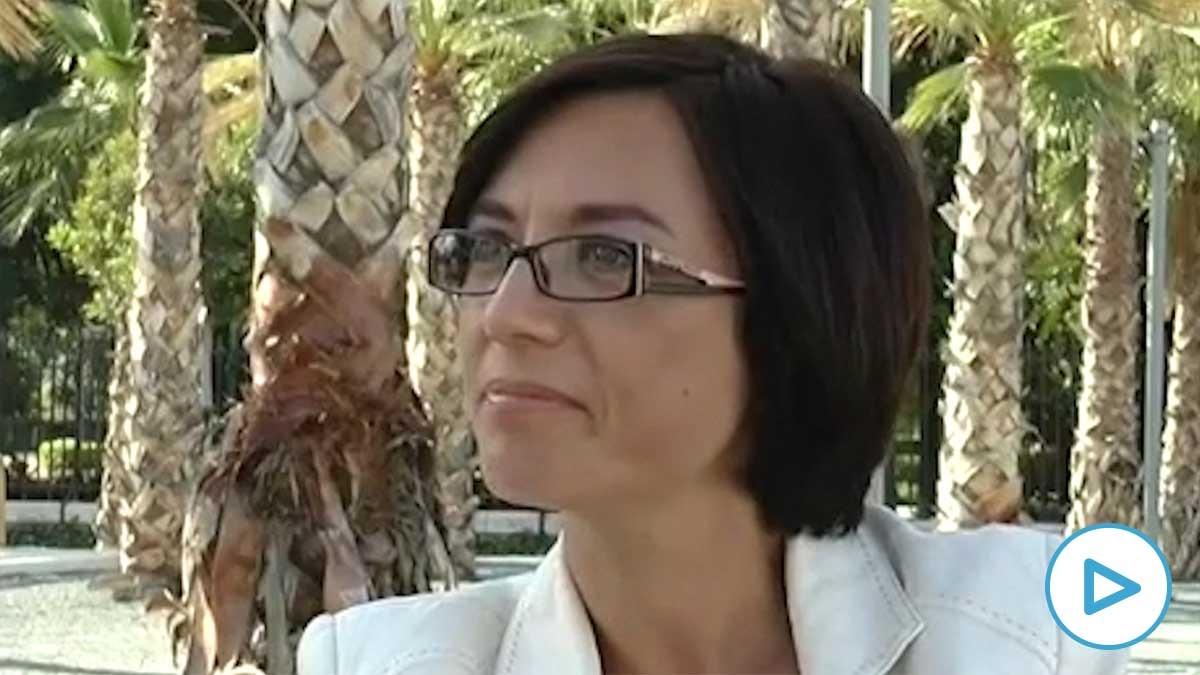 María Gámez, directora de la Guardia Civil, en una entrevista de 2014.