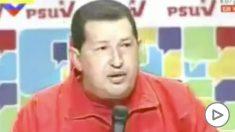 Hugo Chávez y Pablo Iglesias.