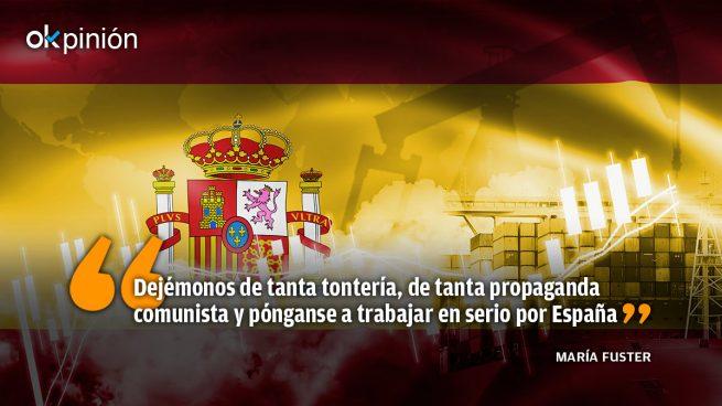 La reactivación de España pasa por la desactivación de este Gobierno