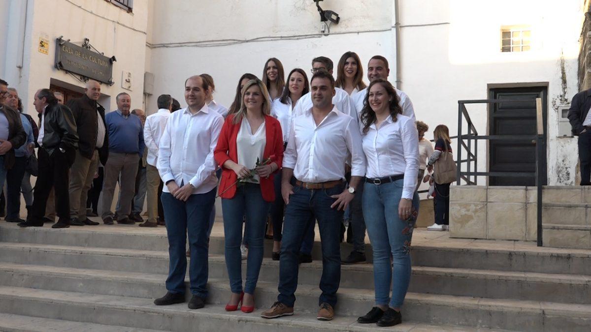 PSOE en Begíjar.