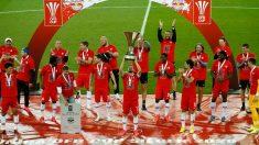 El Salzburgo se proclamó campeón de Austria. (AFP)