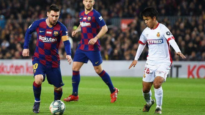Messi y Kubo