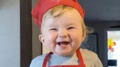 Conoce a Kobe el adorable bebé chef que con 1 año ya es una estrella web