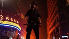 Policía en Nueva York durante protestas por la muerte de George Floyd – Joel Marklund/Bildbyran via ZUMA / DPA
