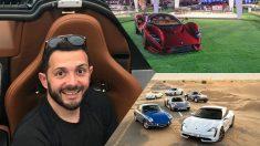 Faisal Bin Laden, coleccionista de coches de lujo. (Instagram)