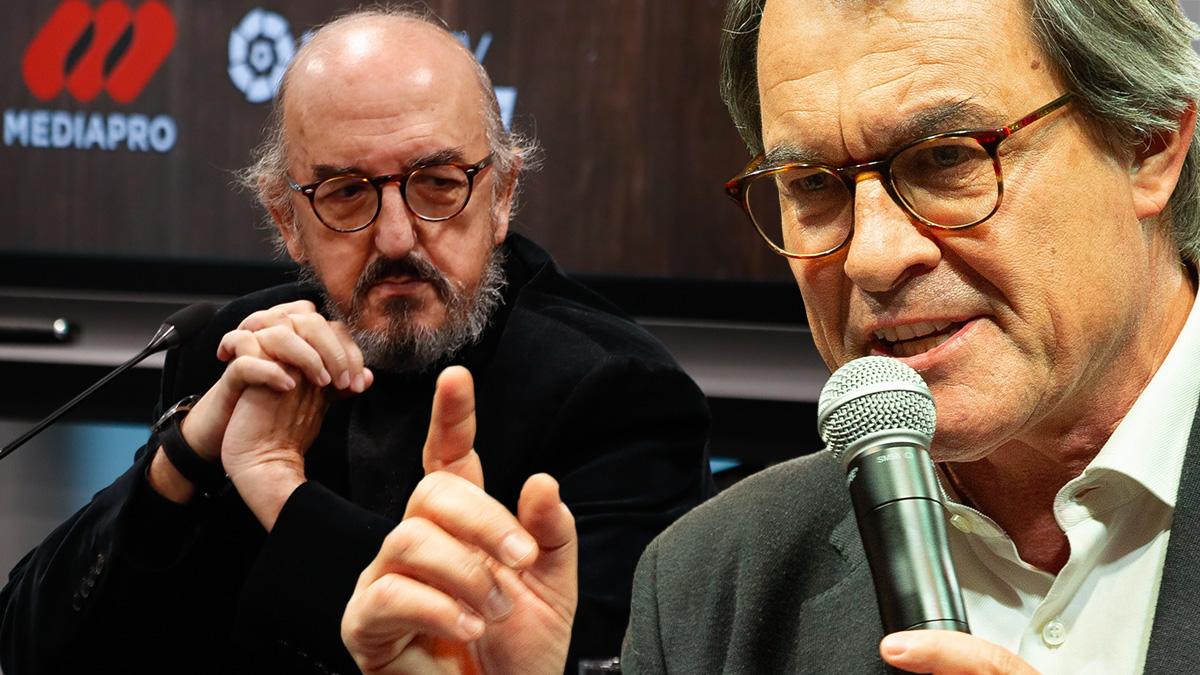 El millonario Jaume Roures y el ex presidente de la Generalitat Artur Mas.
