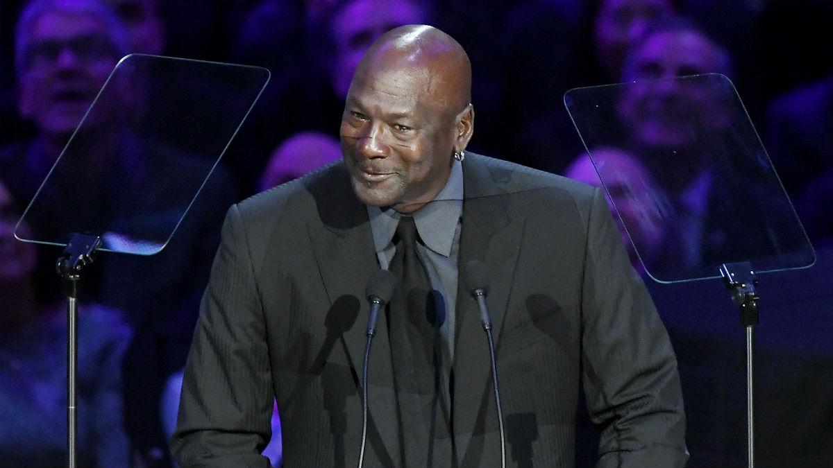 Michael Jordan. (Getty)