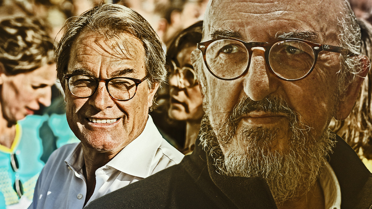 Artur Mas y Jaume Roures.