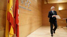 Enrique Ruiz Escudero, consejero de Sanidad de la Comunidad de Madrid – COMUNIDAD DE MADRID – Archivo