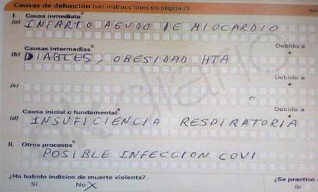 Los profesionales funerarios envían al Rey un informe que cifra en 43.985 las muertes por coronavirus