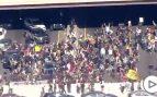 Manifestación en philadelphia por la muerte de George Floyd