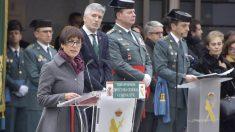 María Gamez durante su toma de posesión como directora general de la Guardia Civil