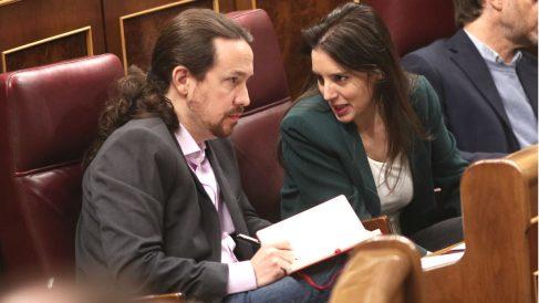 Pablo Iglesias e Irene Montero. (Foto: Europa Press)