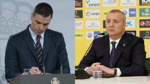 Pedro Sánchez y Miguel Ángel Ramírez.