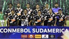 Una imagen del equipo de Vasco da Gama. (AFP)