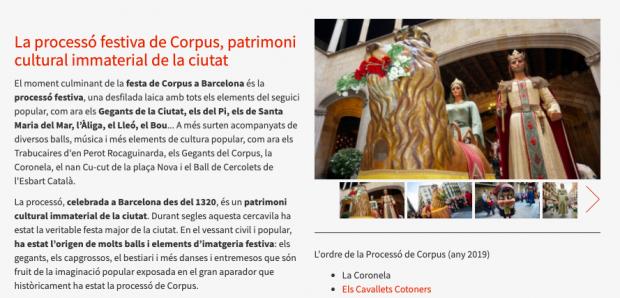 Colau fulmina la religiosidad del 'Corpus' de Barcelona tras explicar al detalle la historia del Ramadán