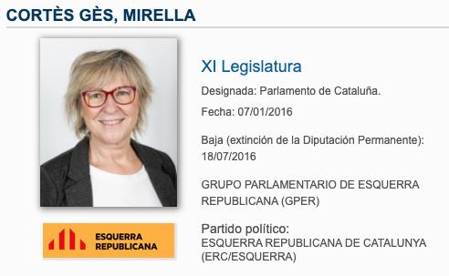 Iglesias no respeta ni sus propias normas: sin mascarilla y a menos de 2 metros con una senadora de ERC