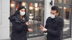 Desinfectante para manos y coronavirus