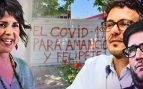 Anticapitalistas desea la muerte de Amancio Ortega y del rey Felipe VI.