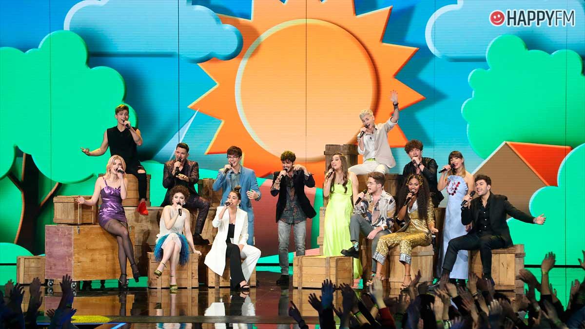 OT 2020: Lista de canciones que sonarán en la gala 12