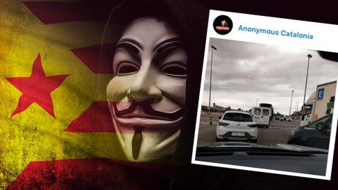 Anonymous asegura que va a informar sobre la posición de Policía y Guardia Civil