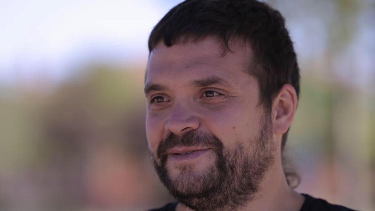 Jesús Santos, líder de Podemos en la Comunidad de Madrid.