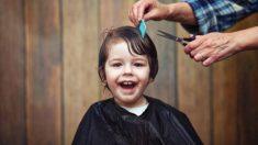 Los errores que se deben evitar al cortar el pelo a los niños
