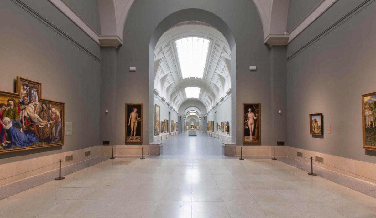Galería central del Museo del Prado @MuseodelPrado
