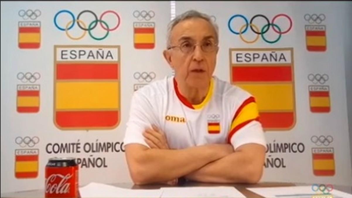 Alejandro Blanco, presidente del Comité Olímpico Español. (Foto: coe.es)