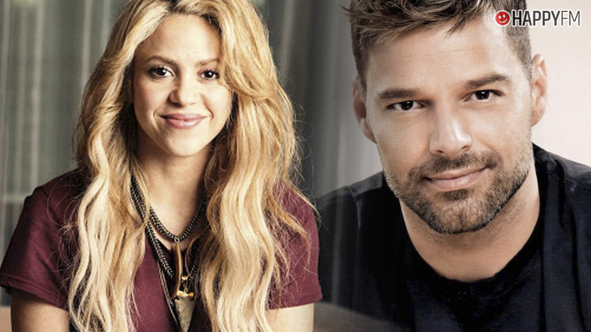 Shakira y Ricky Martin