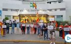 Una iniciativa ciudadana en Sevilla rinde homenaje a los sanitarios frente al Virgen Macarena con el apoyo de VOX