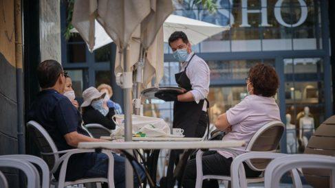 Las reservas 'online' de restaurantes se disparan un 74% en las últimas semanas de la desescalada.
