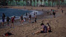 La ciudad condal espera poder controlar con éxito las aglomeraciones en las playas