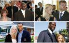 Las separaciones de Jordan, Abramovich, Woods y O'Neal, de las más costosas.