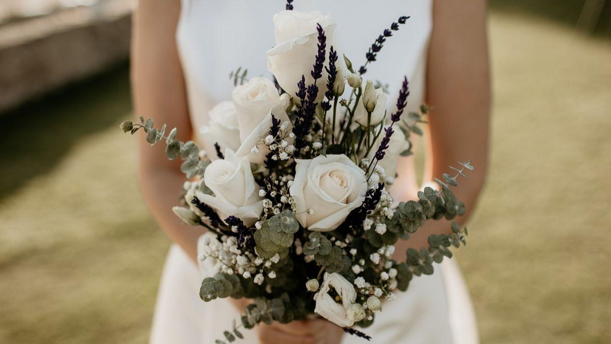 Un ramo de novia.