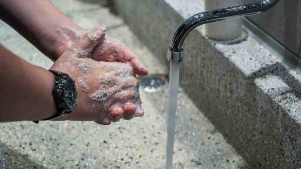 Coronavirus, lavarse las manos