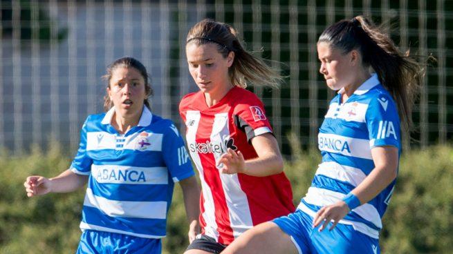 Damaris Egurrola, en un partido del Athletic.