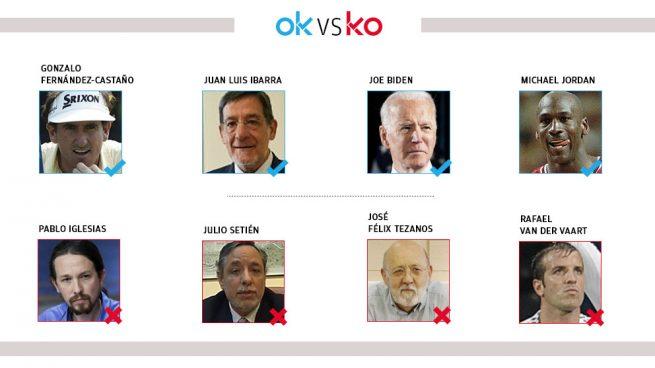 Los OK y KO del domingo, 7 de junio