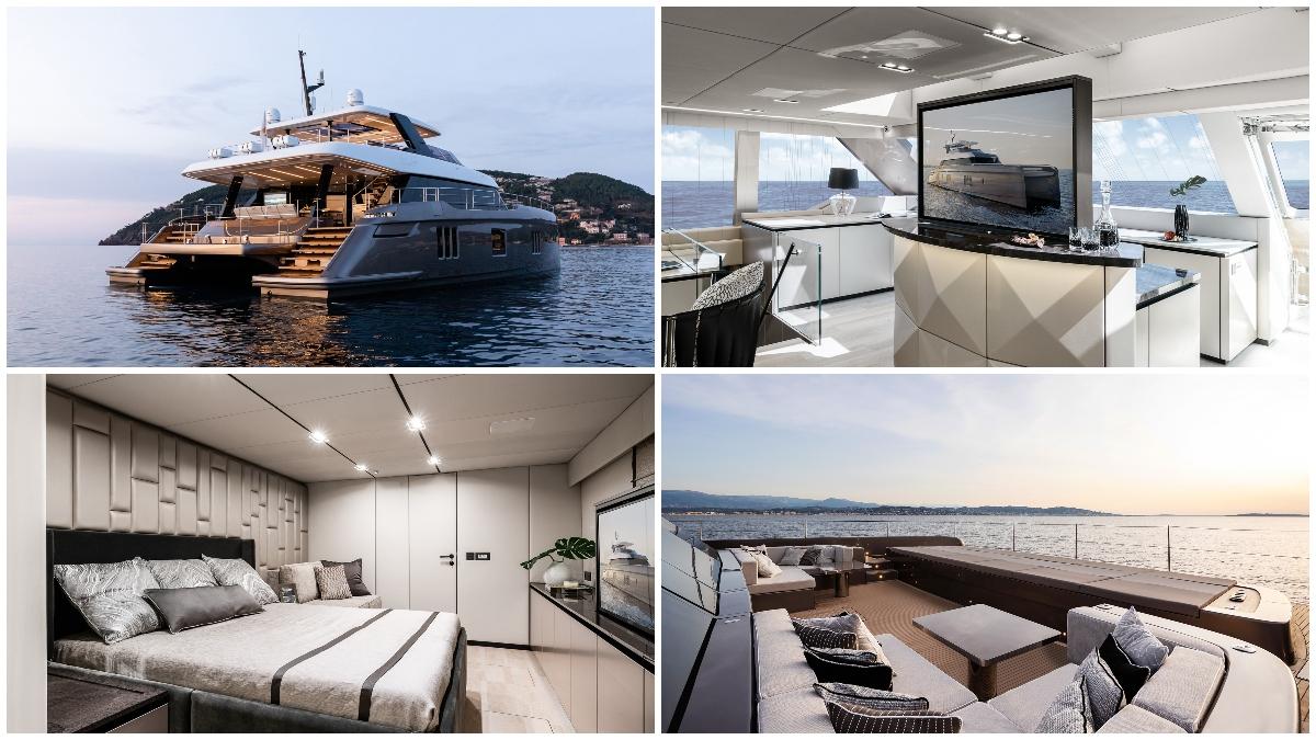 El nuevo catamarán de Rafa Nadal.