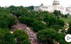 Decenas de miles de personas marchan por todo Estados Unidos contra la violencia racista