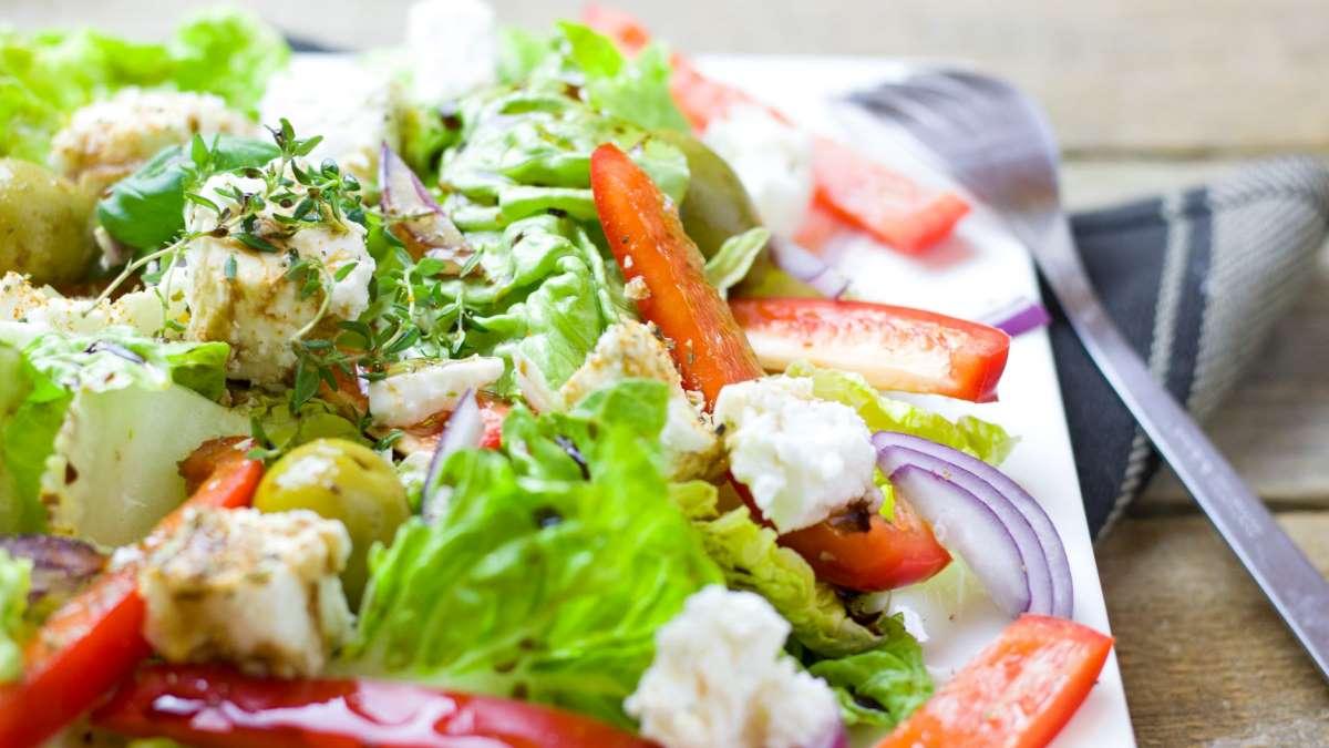 Las ensaladas son un plato clave en una alimentación saludable