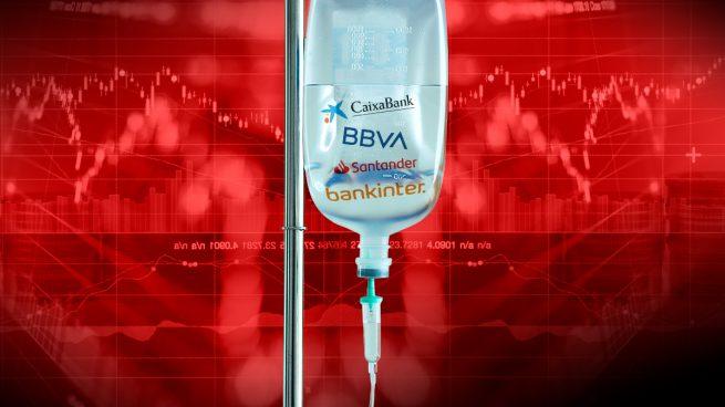 Santander, BBVA, Caixabank y Bankinter recuperan su valor en Bolsa de antes del estado de alarma
