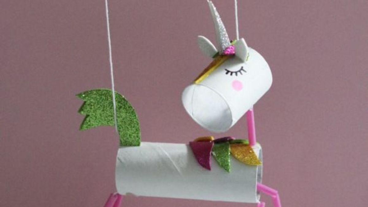Cómo Hacer Una Marioneta Para Los Niños Con Rollos De Papel Higiénico