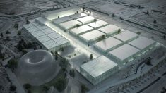 El futuro hospital de emergencias que se ubicará en Valdedebas (Madrid).