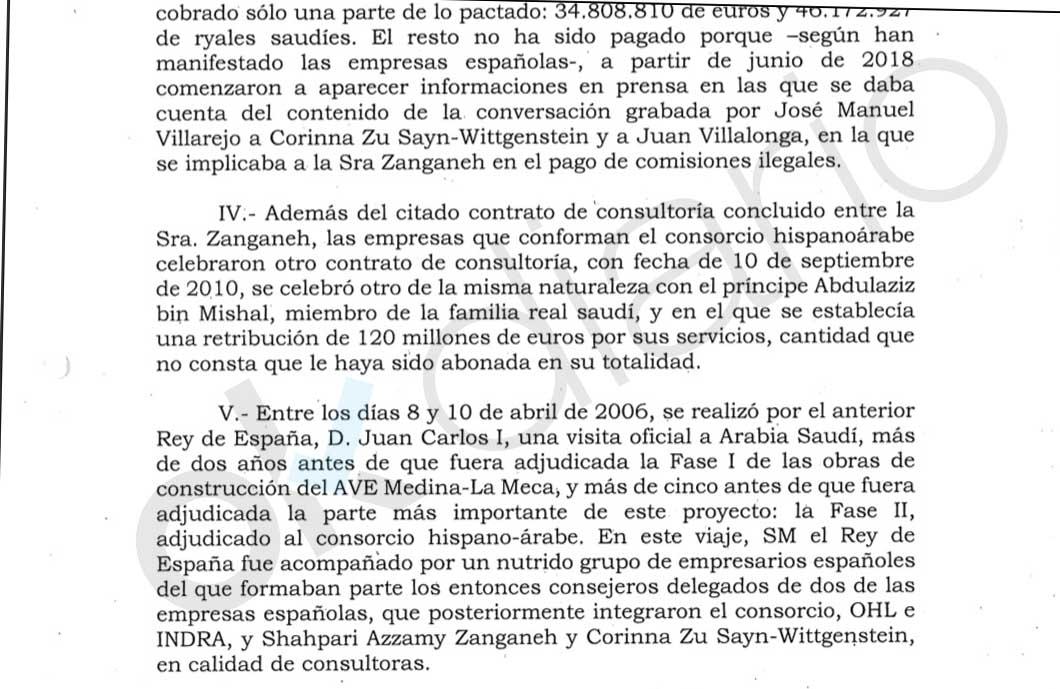 Las empresas españolas del AVE a La Meca pagaron otra comisión de 120 millones a un príncipe saudí