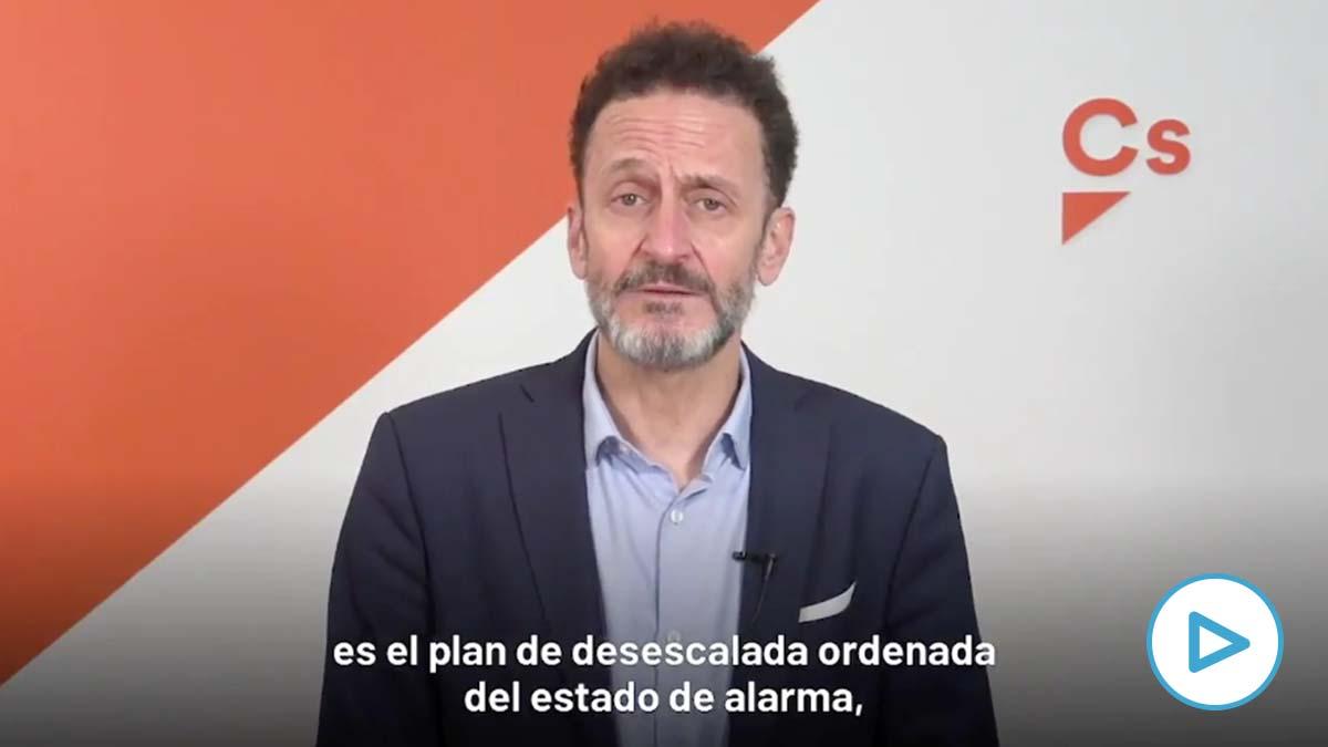 Ciudadanos apoyará el decreto de Sánchez para gestionar la 'nueva normalidad' tras el estado de alarma.