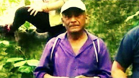 Domigno Choc Che quemado vivo en Guatemala