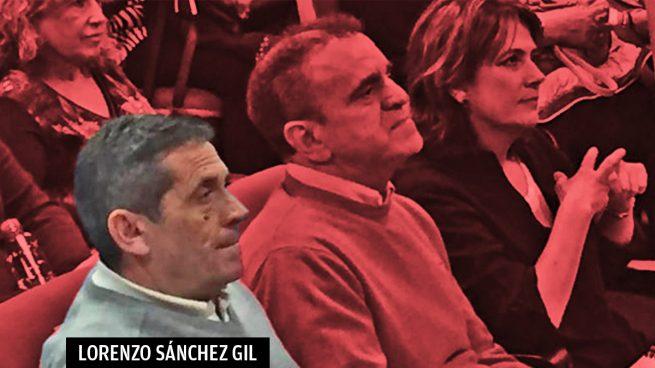 Lorenzo Sánchez junto a José Manuel Franco y Dolores Delgado. (Foto. PSOE)
