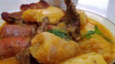 Receta de Sopa de tapado olanchano de Honduras